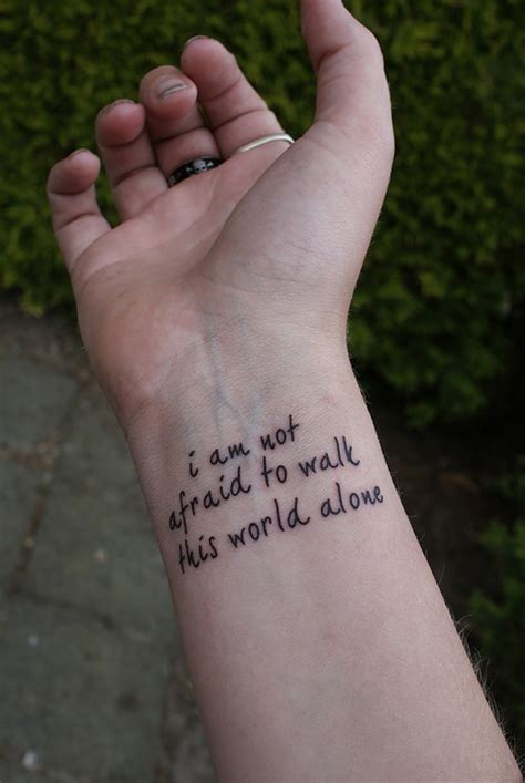 Tattoo Inspiration Wrist | wrist tattoo inspirational quotes quotesgram