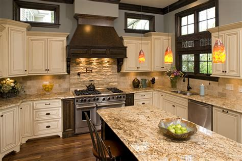 tan kitchen cabinets white tan and dark cabinet kitchen like granite color