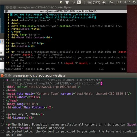 color themes vim vim color scheme with terminator