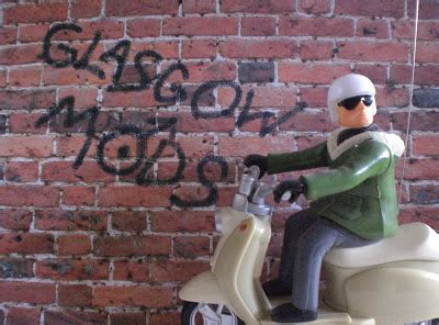 mod haircuts glasgow graffiti out in the streets again