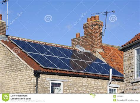 domestic use of solar energy solar energy domestic heating stock image image 22970621
