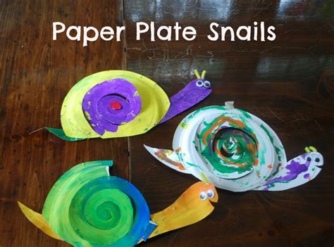 Snail Paper Plate Craft - 240 best images about bug crafts on bug crafts
