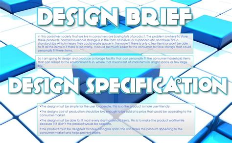 design brief and specification diamond product design brief specification
