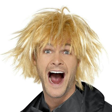 popular man blonde wig buy cheap man blonde wig lots from mens blonde surfer wigs discount wig supply
