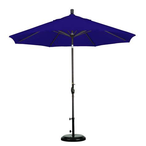 Patio Umbrella Joint Hton Bay 9 Ft Aluminum Patio Umbrella In Spa With Push