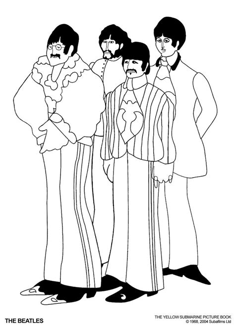 the beatles coloring pages - Google Search | Adventure