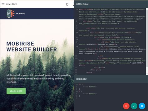 editor layout html css how to design a website using html and css with code