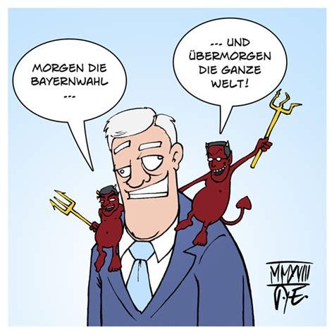 horst seehofer pappaufsteller karikaturen cartoons timo essner
