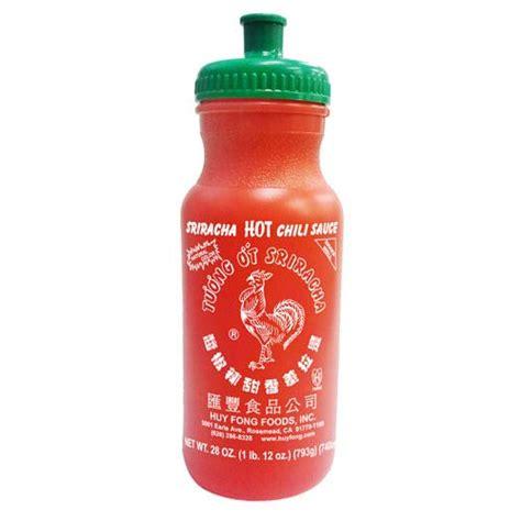 sriracha bottle sriracha chili sauce logo water bottle ripple
