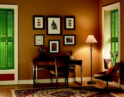 gold wall color living room rust benjamin and bold on