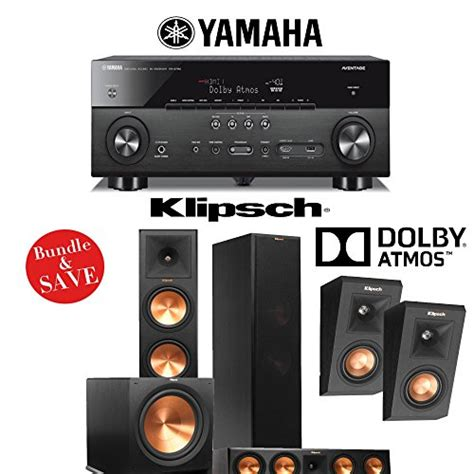 klipsch reference premiere rp 280fa dolby atmos 5 1 home