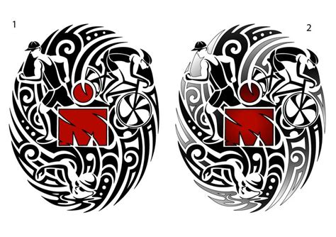 oval tattoo designs 19 best images about my ironman designs on