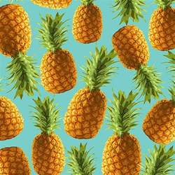 Upholstery In Spanish Fashion Who Needs Leather When There Are Pineapples