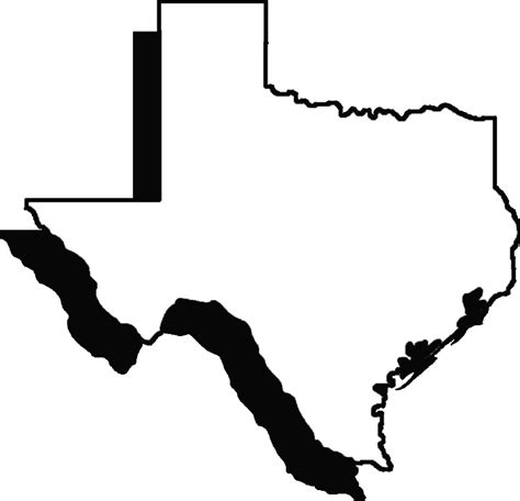 State Of Texas Outline   ClipArt Best