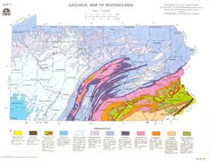 geologic map of pennsylvania