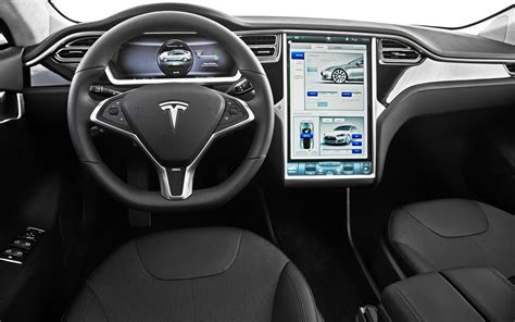 tesla inside tesla adds first driver assist features to model s gas 2