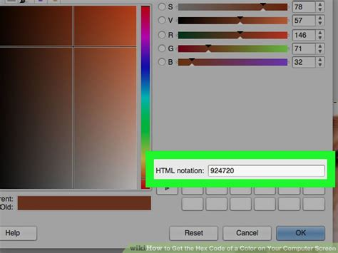 get color code from image 4 ways to get the hex code of a color on your computer screen