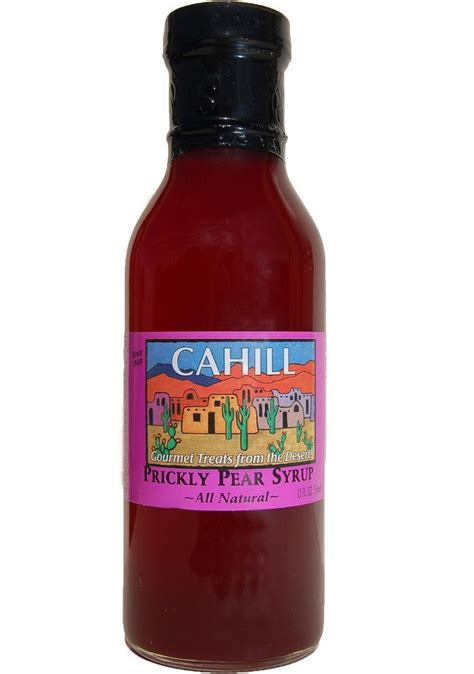 Detox Prickly Pear Drink by Cahill Prickly Pear Syrup Cahill Desert Products