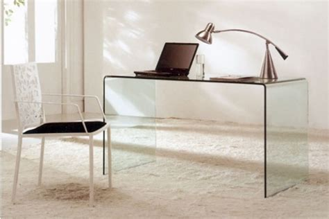 bent desk modern bent glass office desk cr09 desks