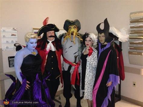 disney villains group halloween costume photo