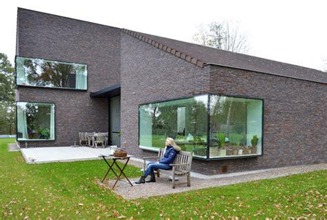 panoramafenster preise moderne ziegelstein mit panoramafenster haus in belgien