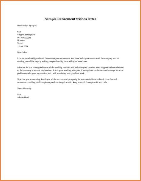 letter of retirement retirement letter template cover letter template design