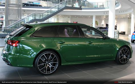 Audi Exklusiv by Audi Exclusive Sonoma Green Rs 6 Avant You Re Welcome