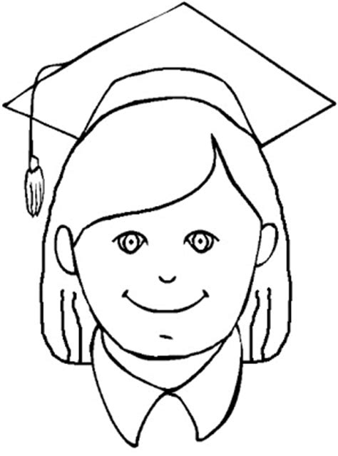 graduation girl coloring page graduation day printable coloring pages coloring pages
