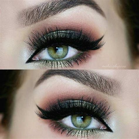 17 pretty makeup looks to try in 2016 allure 31 pretty eye makeup looks for green eyes page 2 of 3