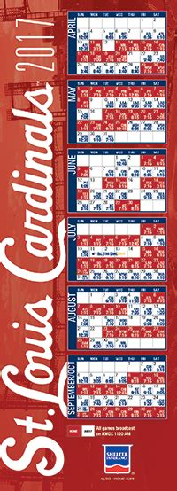 Cardinals Baseball Schedule Giveaways - search results for st louis cardinals printable schedule calendar 2015