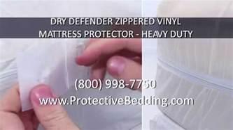 Heavy Duty Vinyl Mattress Protector Zippered by Defender Zippered Vinyl Mattress Protector Heavy Duty