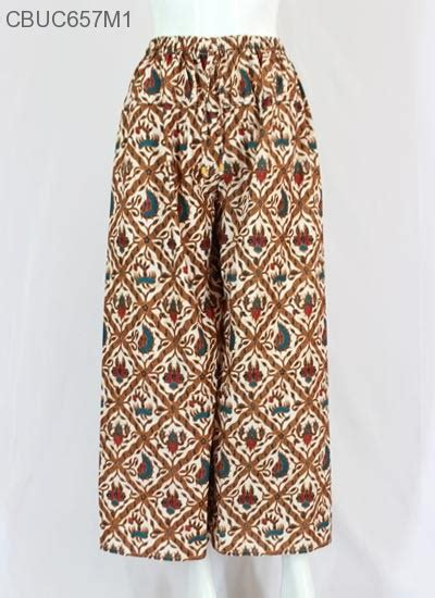 Kulot Murah Elegan Berkualitas Carla celana kulot batik klasik arimb 6 celana murah batikunik
