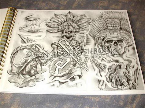 tattoo flash books the gallery for gt chicano flash books