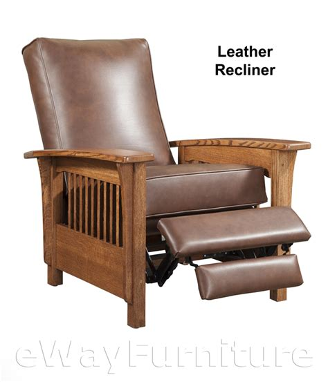 mission style leather couch 26 quot dia x 27 quot h