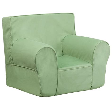 Small Green Recliner Flash Furniture Small Solid Green Chair