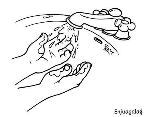 imagenes para colorear higiene personal free coloring pages