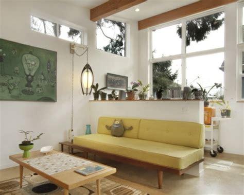 Wohnzimmer 70er Stil by Wohnzimmergestaltung Ideen Im Retro Stil
