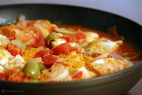 cod with tomato and orange recipe simplyrecipes com