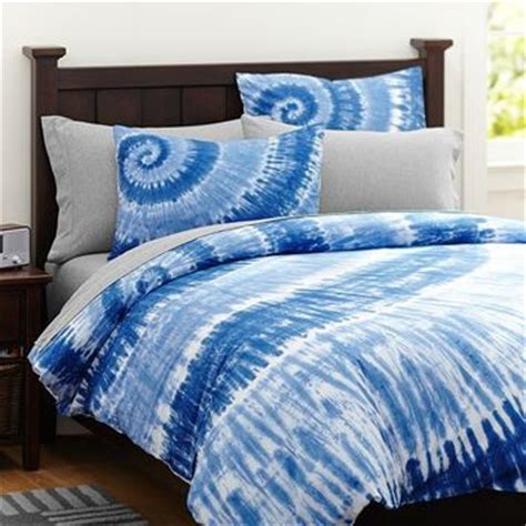 Blue Tie Dye Duvet Cover surfers point tie dye duvet cover sham from pbteen bedding