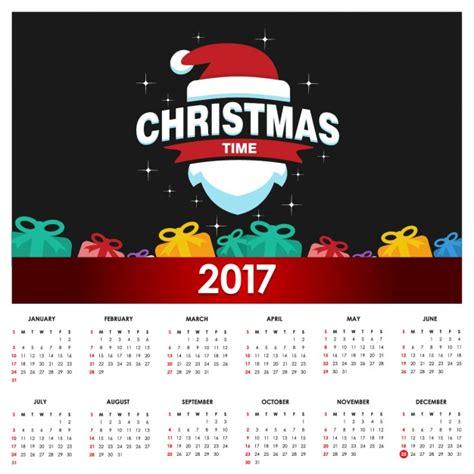 Calendã Sp 2017 Calendar 2017 Vector Free