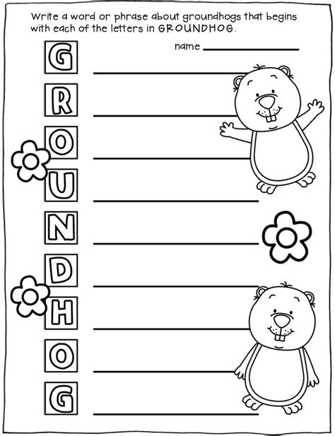 groundhog day activities 84 best groundhog day activities images on