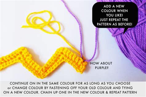 zali zig zag crochet pattern tutorial zali zig zag chevron crochet pattern