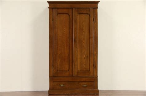 antique armoires and wardrobes sold oak ash 1890 antique armoire wardrobe or closet