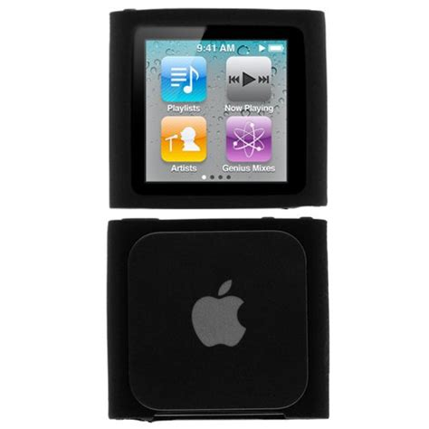Ipod Nano 6th Like Iwatch Rubber gtmax durable soft rubber silicone skin cover for apple ipod nano 6th generation 8gb 16gb