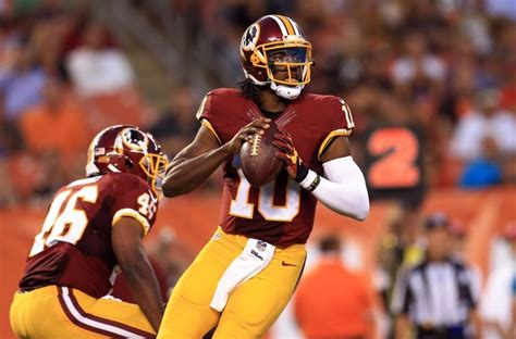 2015 robert griffin iii washington redskins report redskins have discussed trading robert griffin iii