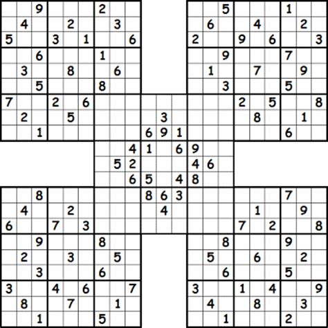 printable triple sudoku printable sudoku