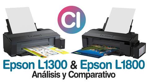 reset para epson l1300 gratis epson l1300 vs epson l1800 an 225 lisis y comparaci 243 n youtube