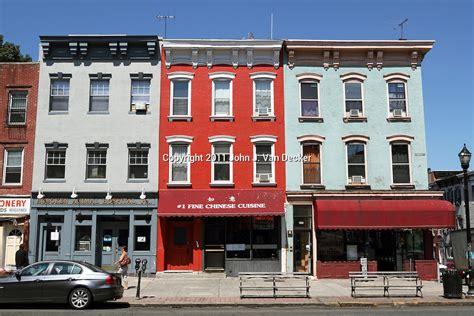 home design stores hoboken row houses and apartment building line washington street