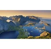 Lofoten Island From Norway  Landscape Wallpaper