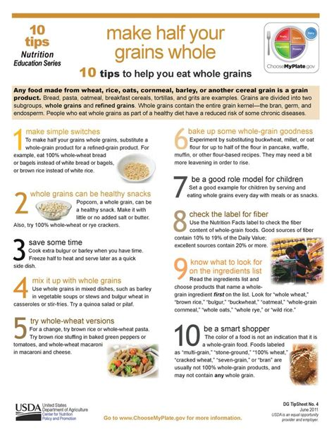 whole grains myplate 25 best images about myplate for adults on 10